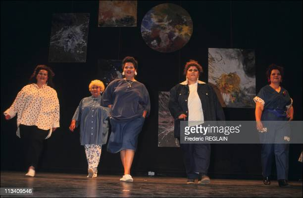 Fashion Show By Anne Zamberlan On May 23rd 1991 In Paris France