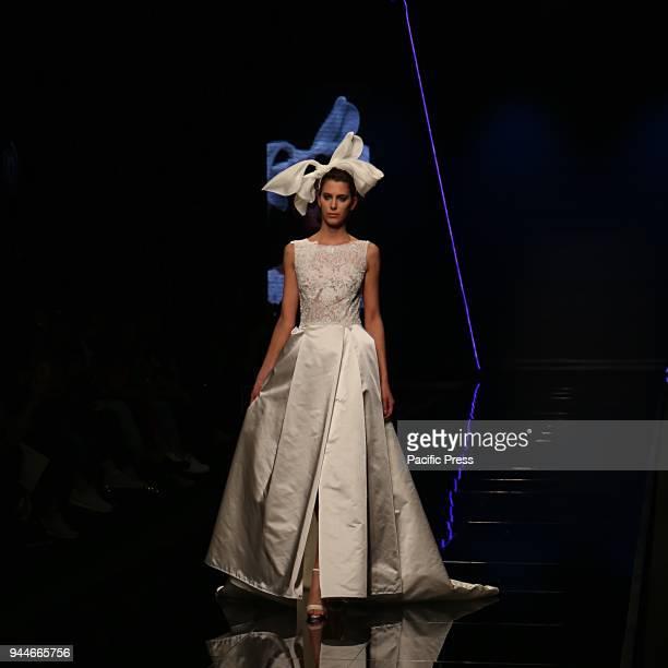 Fashion show by Bellantuono le Collezioni Bellantuono Sartoria and Blumarine Sposa during Sposeitalia collections