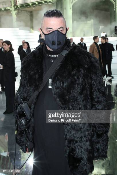 Fashion show designer Etienne Russo attend the Chanel show as part of the Paris Fashion Week Womenswear Fall/Winter 2020/2021 on March 03 2020 in...