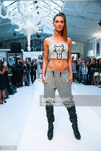 Fashion Show during the showroom opening of the fashion brand Cavallo De Ferro Brasil on May 25 2015 in Duesseldorf Germany