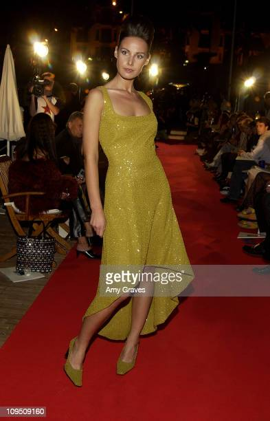 Fashion Show From Taiza on Hotel Martinez Beach during Cannes 2002 - Chrysler Million Dollar Film Festival Hosts High Fashion Show from Taiza in...