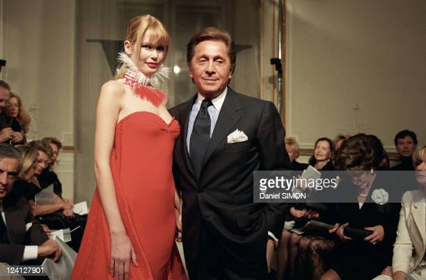 Fashion Show Haute Couture Spring Summer 1998 In Paris France On January 20 1998 Valentino