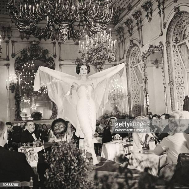 Fashion Show of WF Adlmueller Vienna 1959 Photograph by Barbara Pflaum