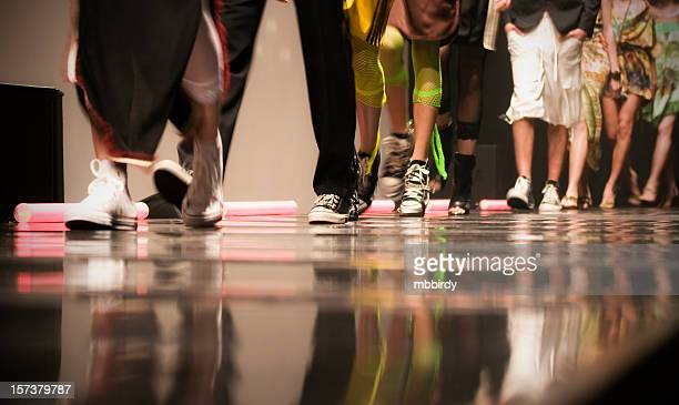fashion show - catwalk stage stock pictures, royalty-free photos & images
