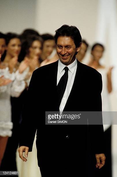 Fashion show Ready to wear Spring/Summer 1994 in Paris France on October 09 1993 Angelo Tarlazzi