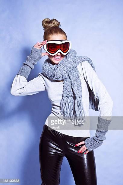 Mode Ski, Winter-Porträt