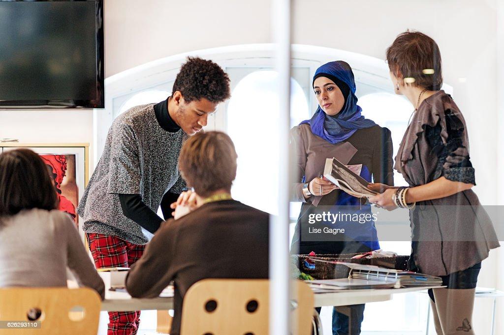 Fashion Startup Business Meeting : Foto de stock