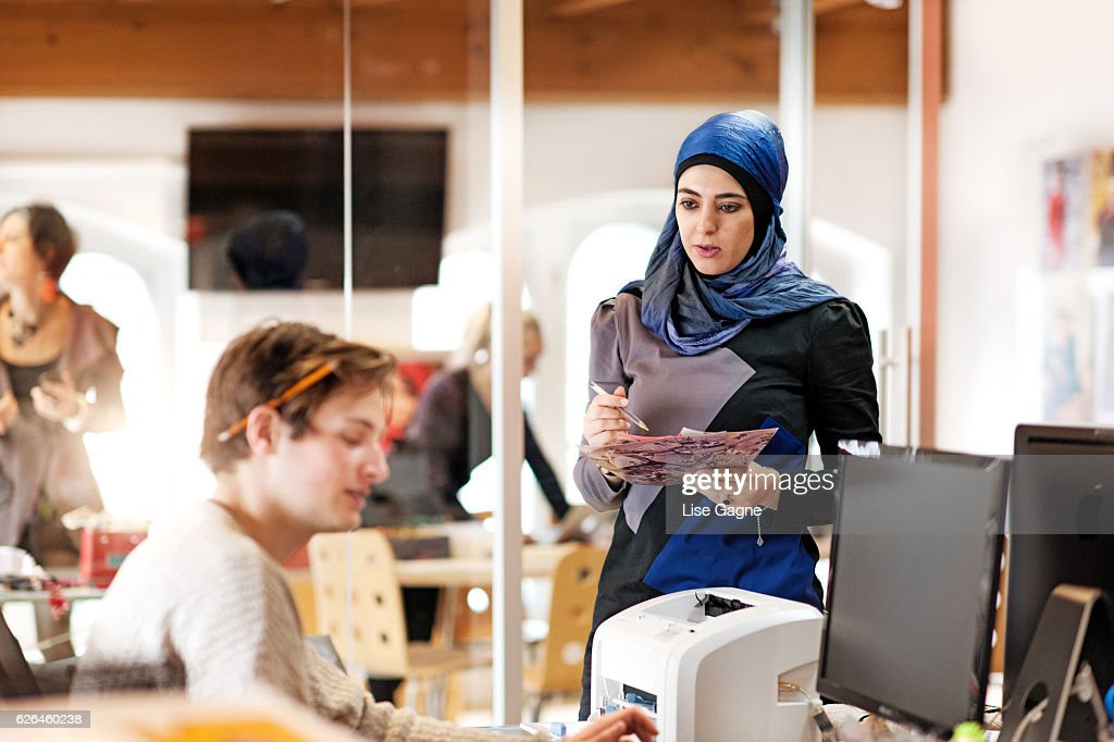 Fashion Startup Business Meeting : Stock Photo