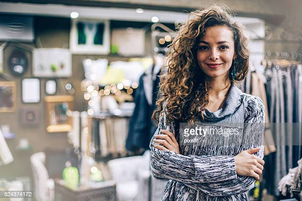 Fashion store owner