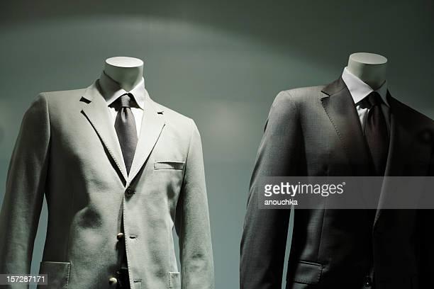 mode-store - kompletter anzug stock-fotos und bilder