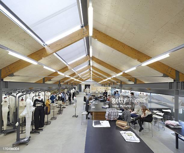 Fashion studio with students Central Saint Martins London United Kingdom Architect Stanton Williams 2011