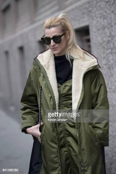 Fashion stylist Ada Kokosar day 4 of Paris Womens Fashion Week Spring/Summer 2018 on March 1 2018 in London England