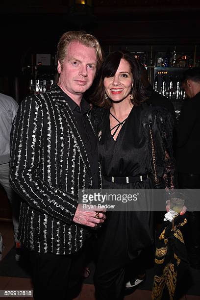 Fashion Stylist Cannon and guest attend the Gisele Bundchen Spring Fling book launch on April 30 2016 in New York City