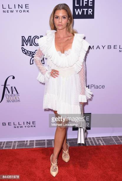 Fashion stylist Elizabeth Sulcer attends the Daily Front Row's Fashion Media Awards at Four Seasons Hotel New York Downtown on September 8 2017 in...