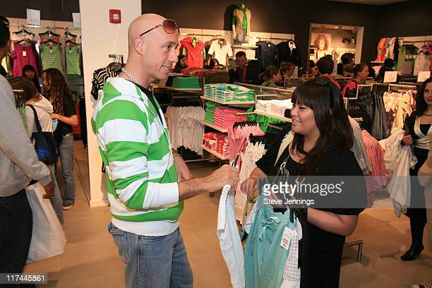 Fashion Stylist Guru Robert Verdi at H&M Store Opening