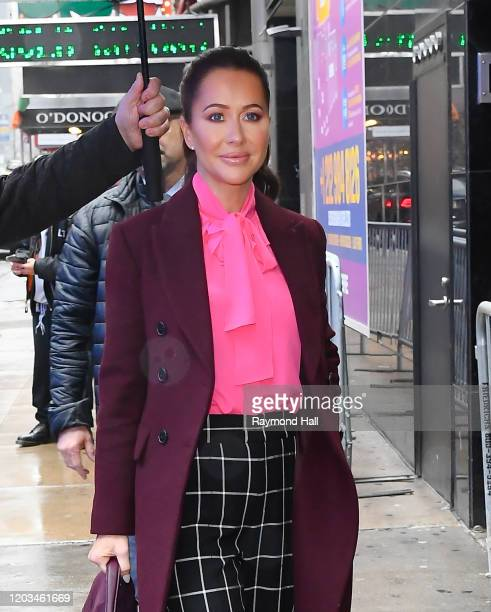 Fashion Stylist Jessica Mulroney is seen outside good morning america on February 26 2020 in New York City