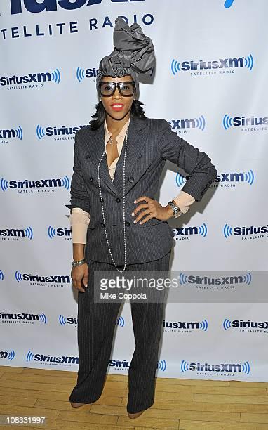 366f4715525a Fashion stylist June Ambrose visits Martha Stewart Living Radio at SIRIUS  XM Studio on January 25