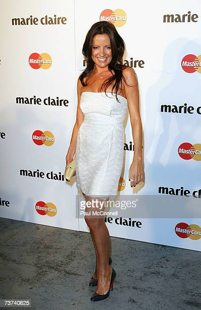 Fashion stylist Kelly Smythe attends the 2007 Prix De Marie Claire Awards at the White Bay Studios Rozelle on March 29 2007 in Sydney Australia The...