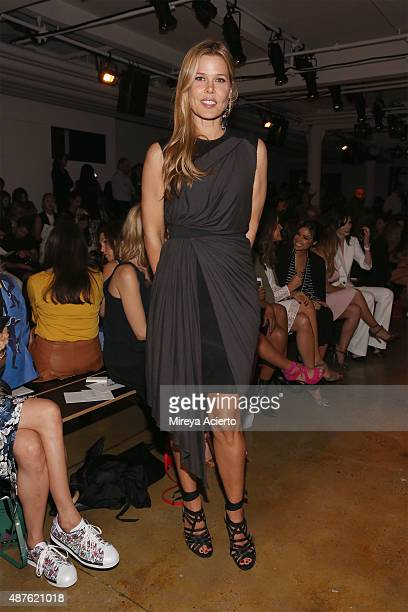 Fashion stylist Mary Alice Stephenson attends the Marissa Webb fashion show during Spring 2016 MADE Fashion Week at Milk Studios on September 10 2015...