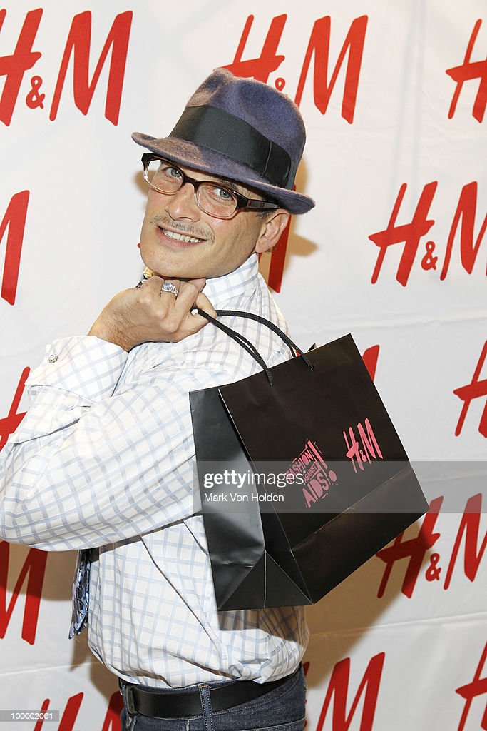 Fashion stylist Phillip Bloch attends H&M's launch of Fashion Against AIDS at H&M Fifth Avenue on May 19, 2010 in New York City.