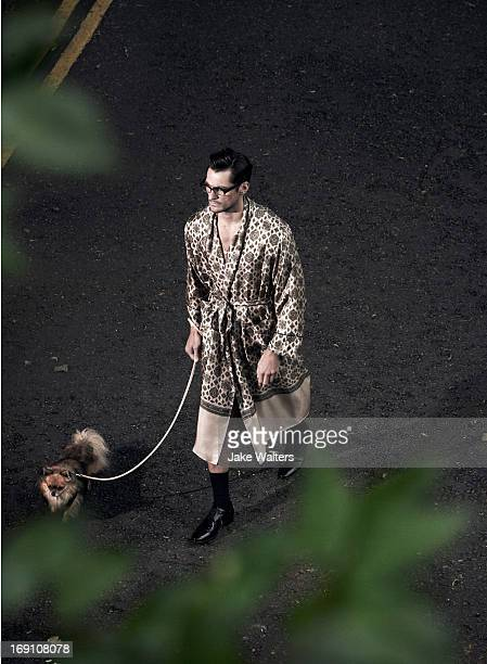 Fashion super model David Gandy is photographed for the Rake magazine on March 17, 2012 in London, England.