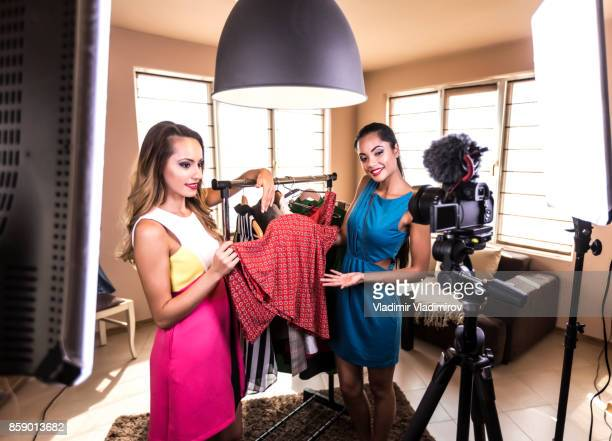fashion vloggers - vlogging stock photos and pictures