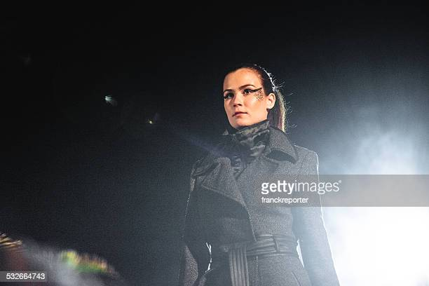 fashion week catwalk - fashion week stock pictures, royalty-free photos & images
