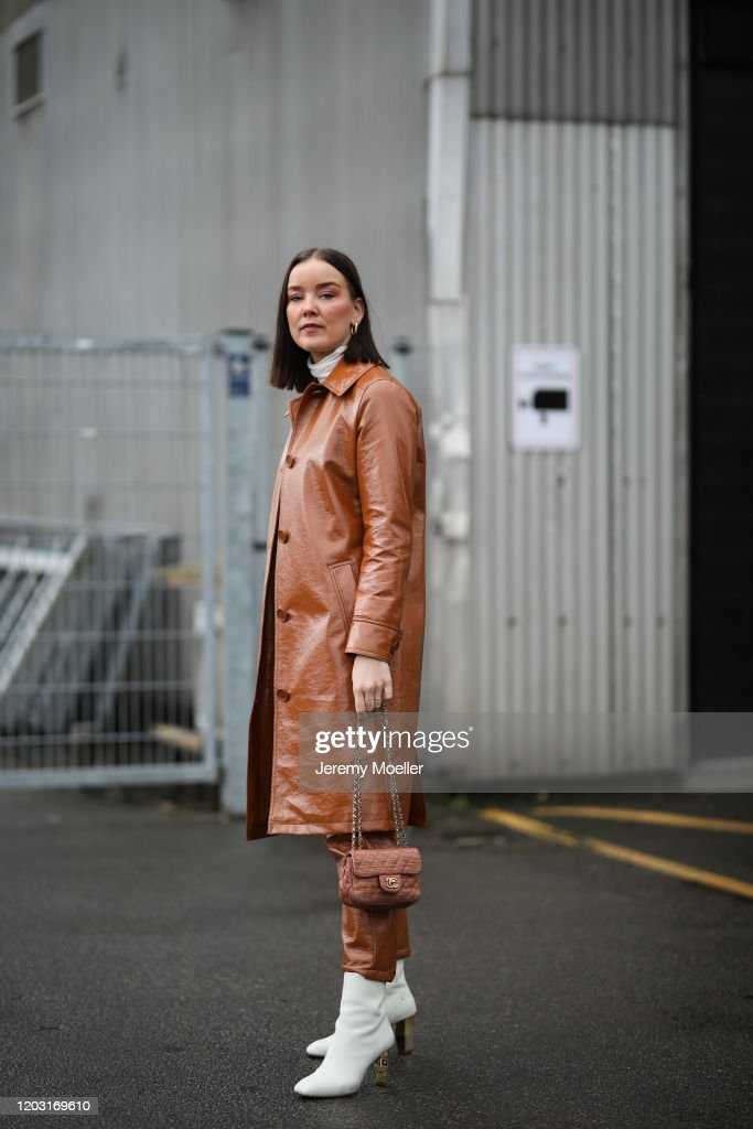 Street Style - Day 4 - Copenhagen Fashion Week Autumn/Winter 2020 : Nachrichtenfoto