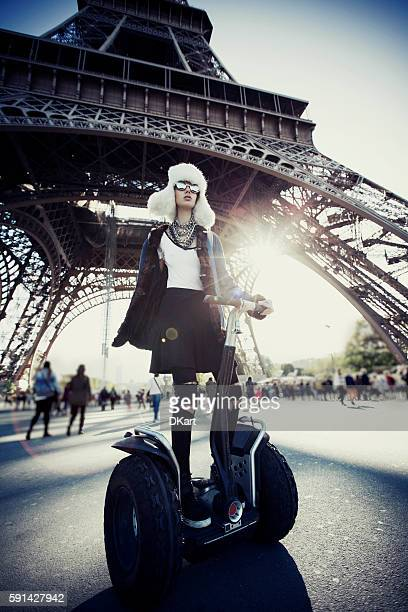 Fashion women in Paris
