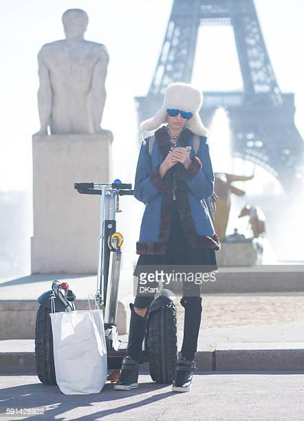 Fashion women in Paris