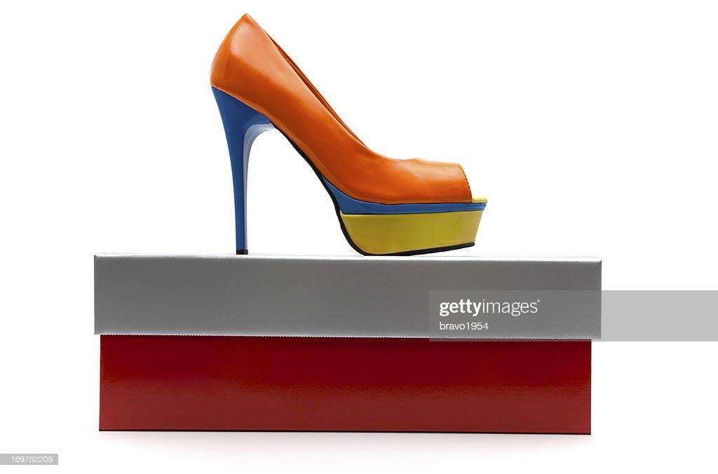 Fashion women's  High Heels shoe : Stock Photo