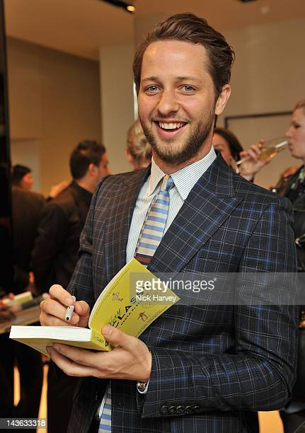 Fashion writer Derek Blasberg attends the Gucci Hosts 'Very Classy' by Derek Blasberg at the Gucci Store on May 1 2012 in London England