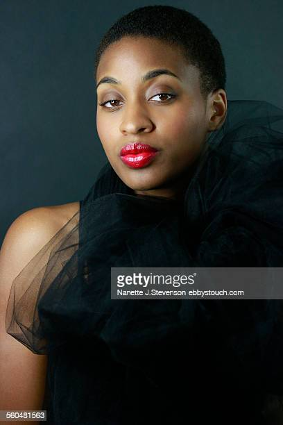fashionable african american woman - nanette j stevenson stock photos and pictures