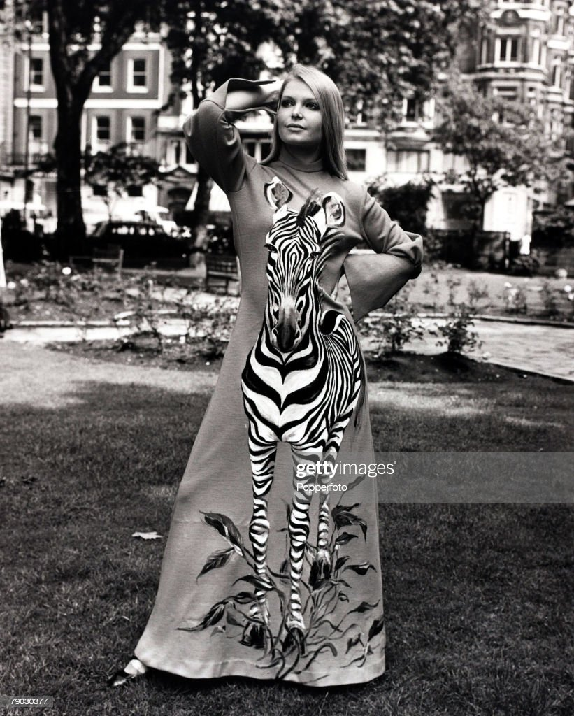 Fashion/Beauty, London, England, 15th June 1971, Eva