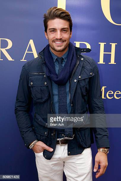 A fashiongoer attends Polo Ralph Lauren Fall 2016 during New York Fashion Week on February 12 2016 in New York City