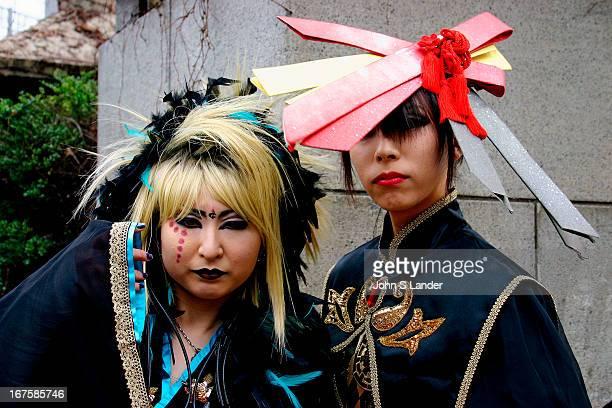 Fashionistas called 'Takenokozuko' who converge on the Harajuku area of Tokyo every Sunday Some cosplay girls have more sense of style and fashion...
