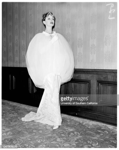 Fashions, Ambassador Hotel, for Babbette, 3 March 1958. Charles Knowles;Ashley Cowan. Sleeve reads: S-12301).;Supplementary material reads: 'Lou Mack...