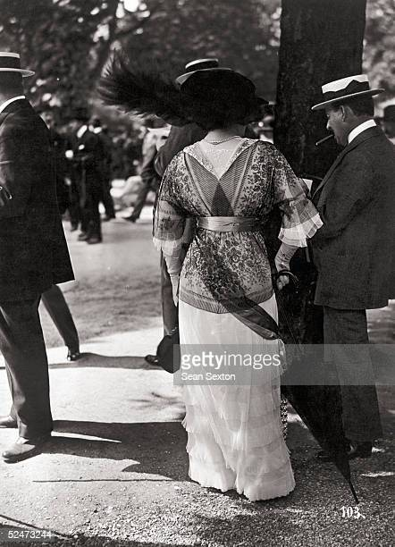 Fashions at Longchamps race course France 25th May 1913