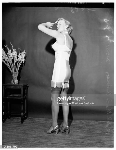 Fashions lingerie show at Biltmore July 15 1951 Annabel Applegate Mae Harkson Terry Grinell Mavis Anderson Pamela Paulson Norma Paxton More...
