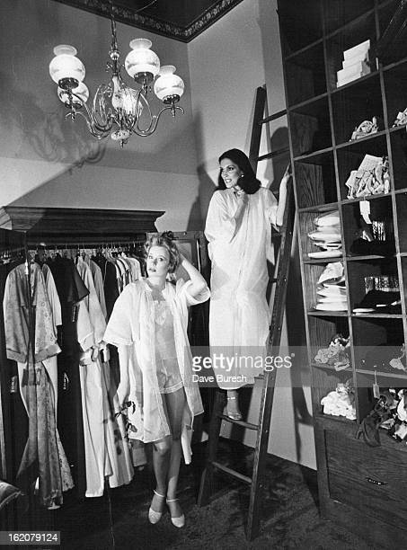 FEB 2 1979 FEB 6 1979 FEB 11 1979 Fashions Women Fine handkerchief batiste appears in camisole 'tap pants' robes and gown Wear the camisole also with...