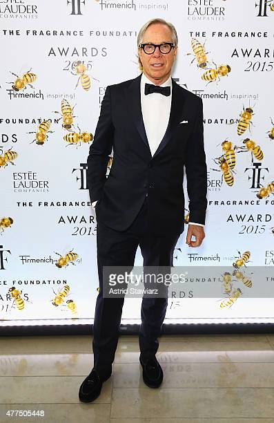 Fashon designer Tommy Hilfiger attends the 2015 Fragrance Foundation Awards at Alice Tully Hall at Lincoln Center on June 17 2015 in New York City