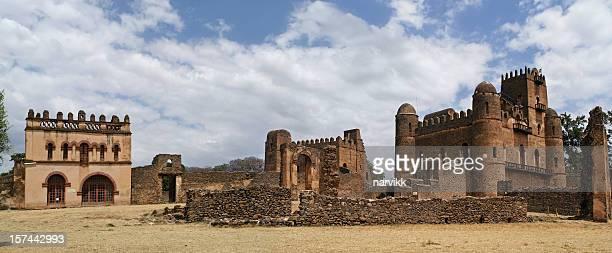 Fasiladas Palace in Gondar Ethiopia