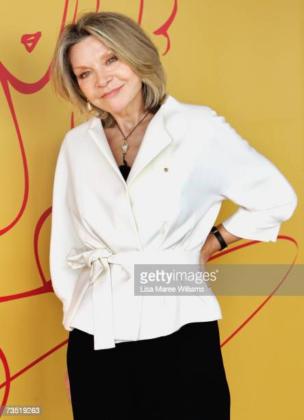 Fasion designer Carla Zampatti attends The Veuve Clicquot Award Australia a global tribute to women achievers in business and industry at The Wharf...