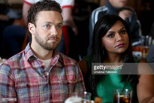 PROJECT 2 Fast 2 Serious Episode 417 Pictured Ross Marquand as Bryant Green Mindy Kaling as Mindy Lahiri