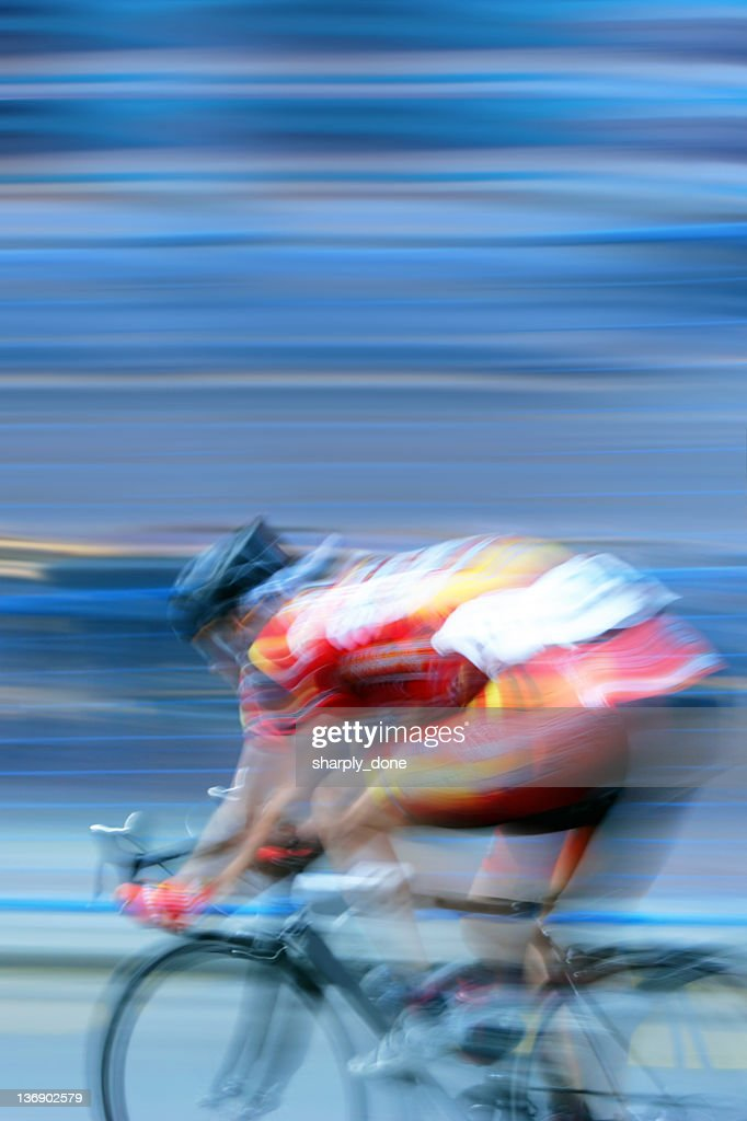 XXL fast bicycle racer : Stock Photo