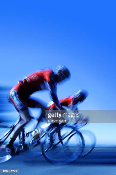 XXL rapidement les coureurs de vélo
