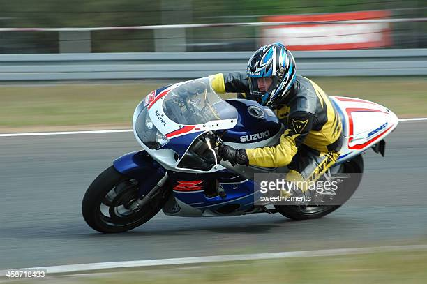 fast bike - motorcycle racing stock pictures, royalty-free photos & images