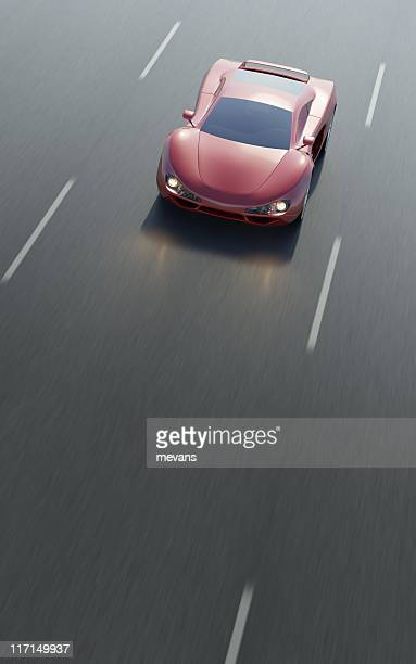 fast car - smart car stock photos and pictures