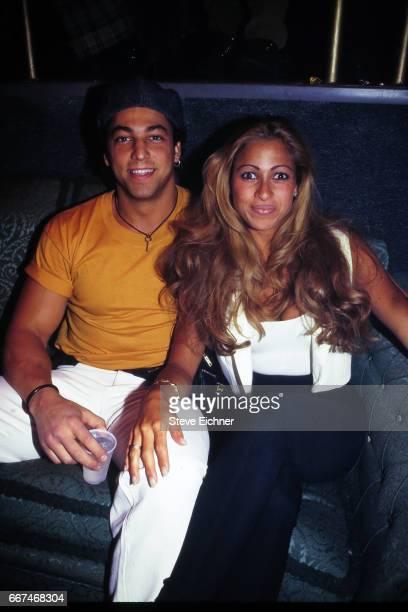 Fast Eddie Mallia and Carol Shaya at Club Expo New York New York February 11 1995