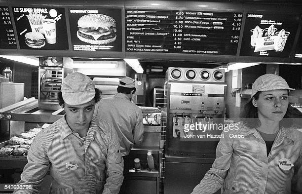 Fast food also known as the junk food phenomenon arrived in France the country of gastronomy in the late seventies early eighties Hamburgers...
